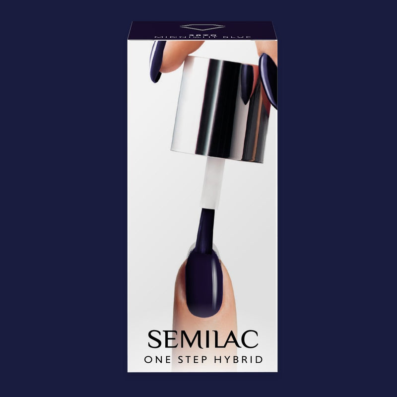 Semilac One Step Gel Polish Bottle 5ml 890 Midnight Blue - Semilac Shop