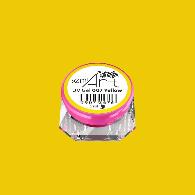 Semilac SemiArt UV Gel - 007 Yellow - Semilac Shop