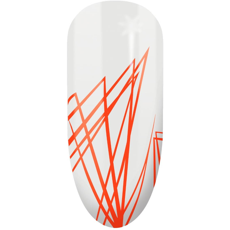 Semilac Spider Gum Neon Orange - Semilac Shop