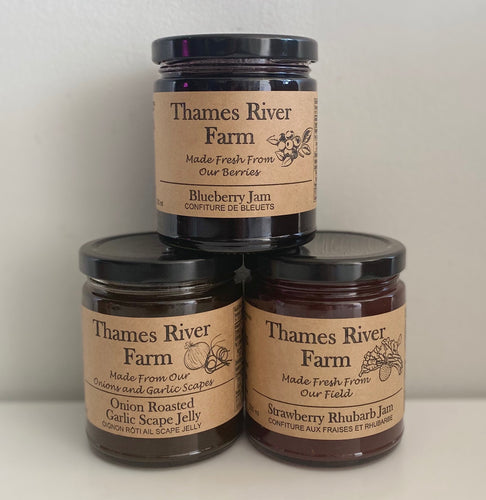 Jams and Jellies - Thames River Farm - Mimi and Ry Produce