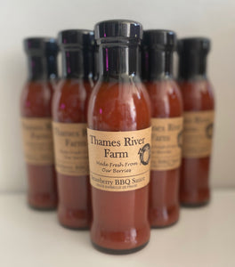 Strawberry BBQ Sauce - Thames River Farm - Mimi and Ry Produce