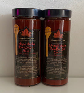 Maple Ancho BBQ Sauce - Mimi and Ry Produce
