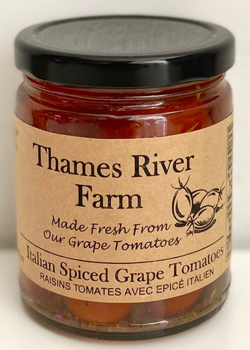 Italian Spiced Grape Tomatoes - Mimi and Ry Produce