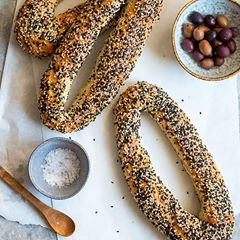 Jerusalem Bagels - half dozen - Brodflour - Mimi and Ry Produce