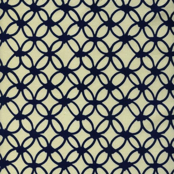 Macrame - Knotty (Navy) ⎮ Broadcloth