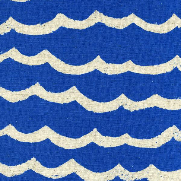 Kujira & Star - Waves (Blue Sea) | Canvas