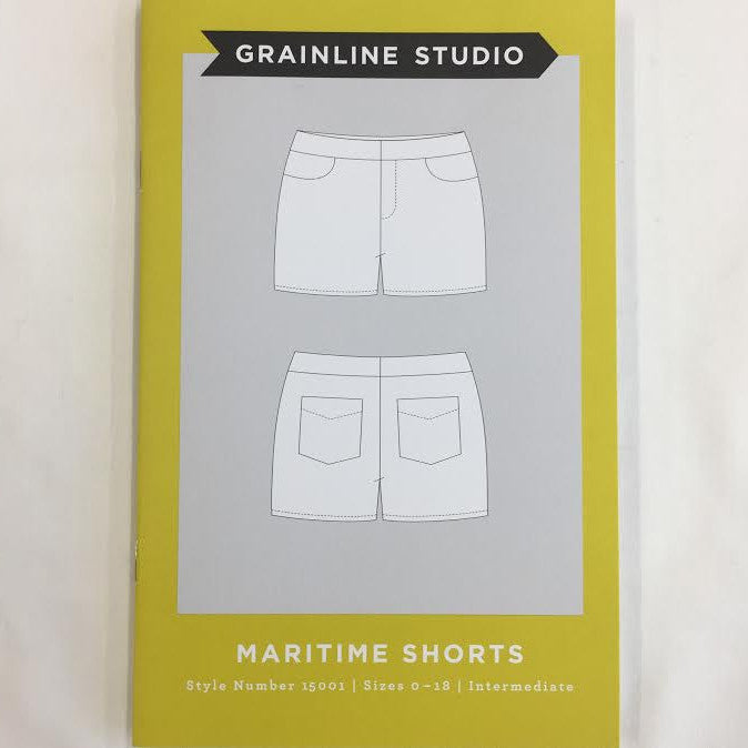 Grainline Studio - Maritime Shorts⎜Apparel Pattern