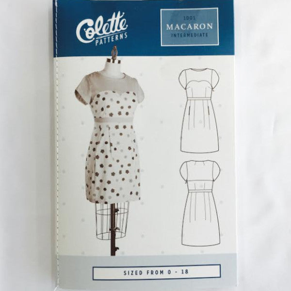 Colette Macaron Dress⎜Apparel Pattern