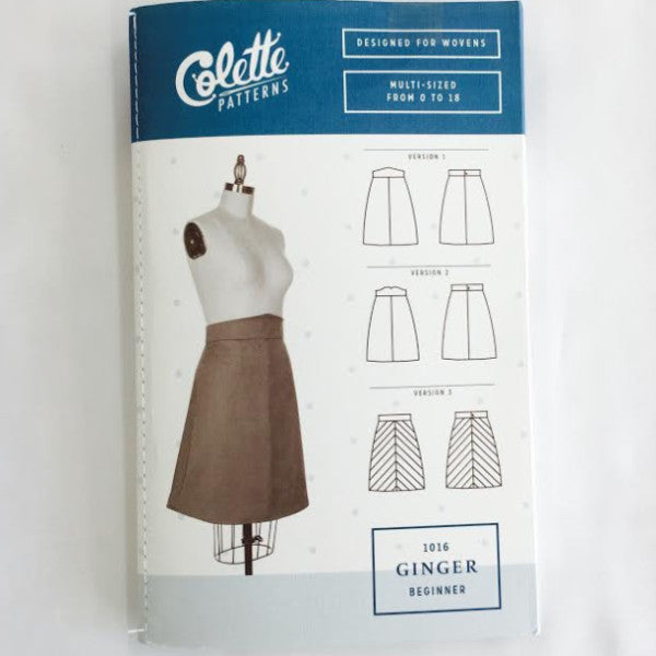 Colette Ginger Skirt⎜Apparel Pattern