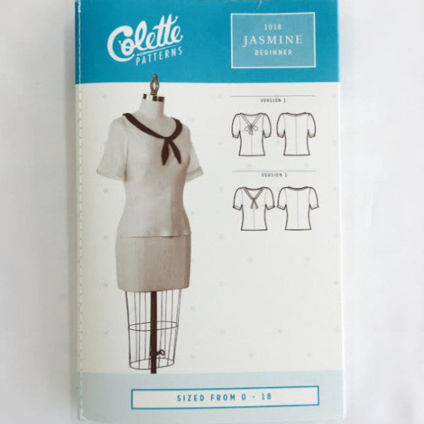 Colette Jasmine Shirt⎜Apparel Pattern
