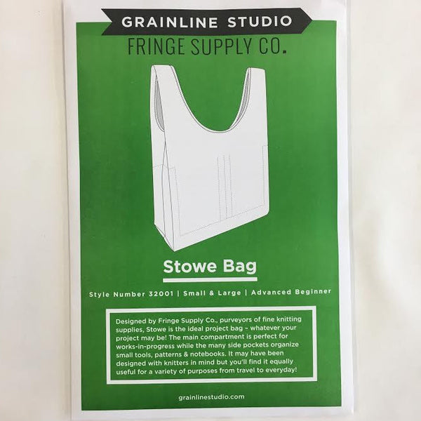 Grainline Studio - Stowe Tote Bag | Apparel Pattern