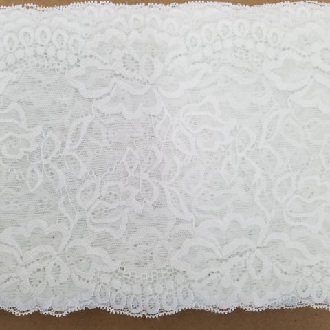 Wide Stretch - (White) | Lace