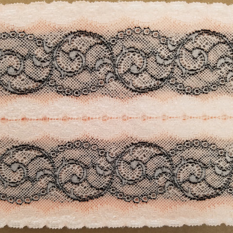 Wide Stretch - (Blush/Black) | Lace