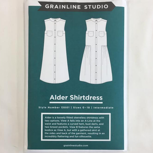Grainline Studio - Alder Shirtdress⎜Apparel Pattern