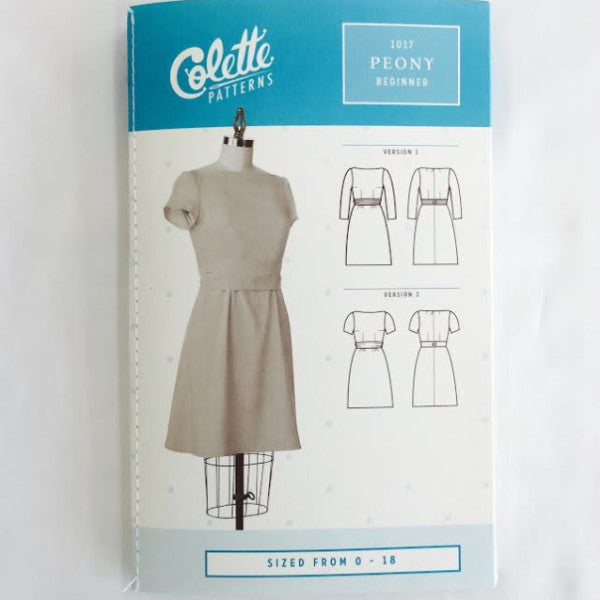 Colette Peony Dress⎜Apparel Pattern