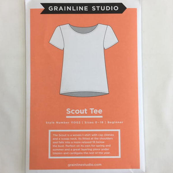 Grainline Studio - Scout Tee⎜Apparel Pattern