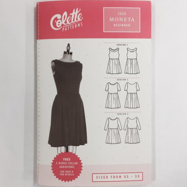 Colette Moneta Dress | Apparel Pattern
