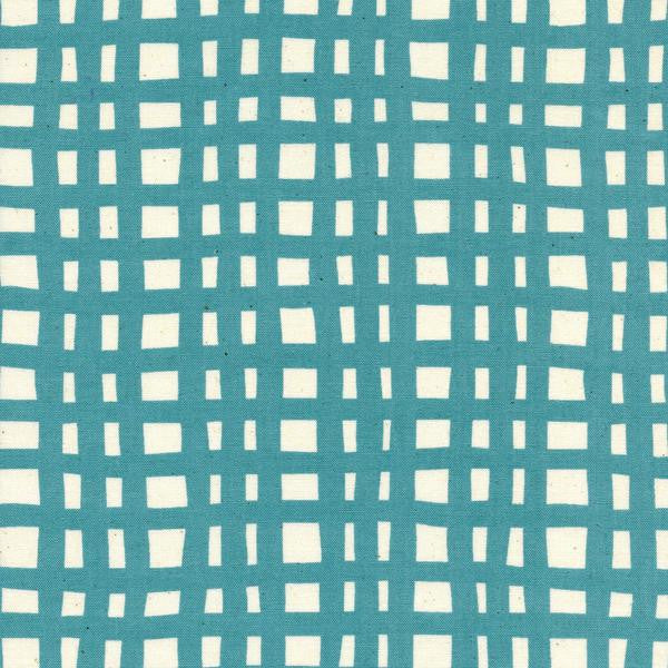 Yours Truly - Going Steady Grid (Teal) | Broadcloth