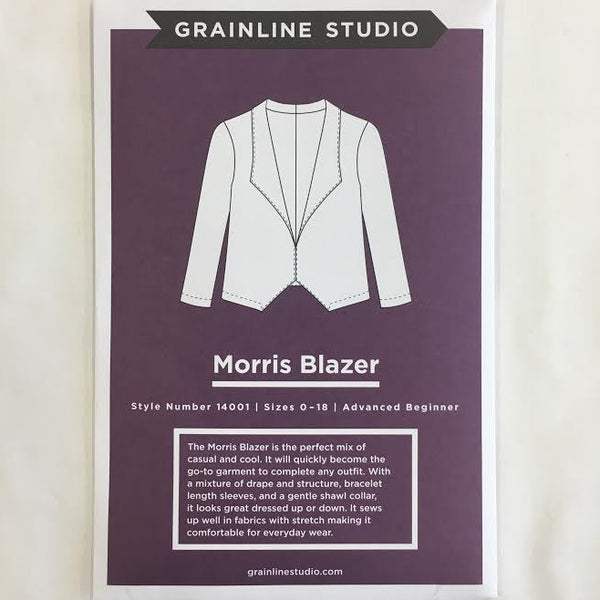 Grainline Studio - Morris Blazer⎜Apparel Pattern
