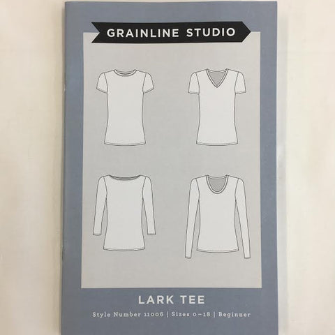 Grainline Studio - Lark Tee⎜Apparel Pattern
