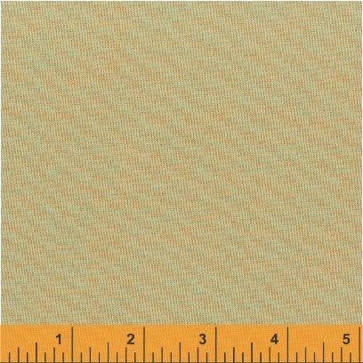 Artisan Solid - (Peach Turquoise) | Chambray