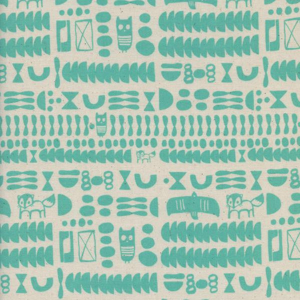 Flower Shop - Charms (Turquoise) | Broadcloth