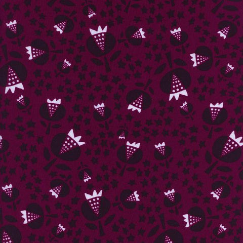 Flower Shop - Thistle (Cerise) | Rayon
