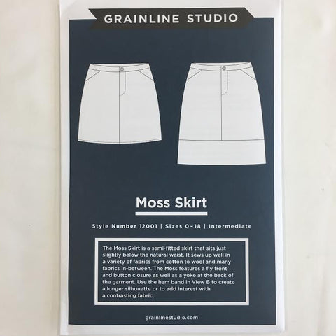 Grainline Studio - Moss Skirt⎜Apparel Pattern