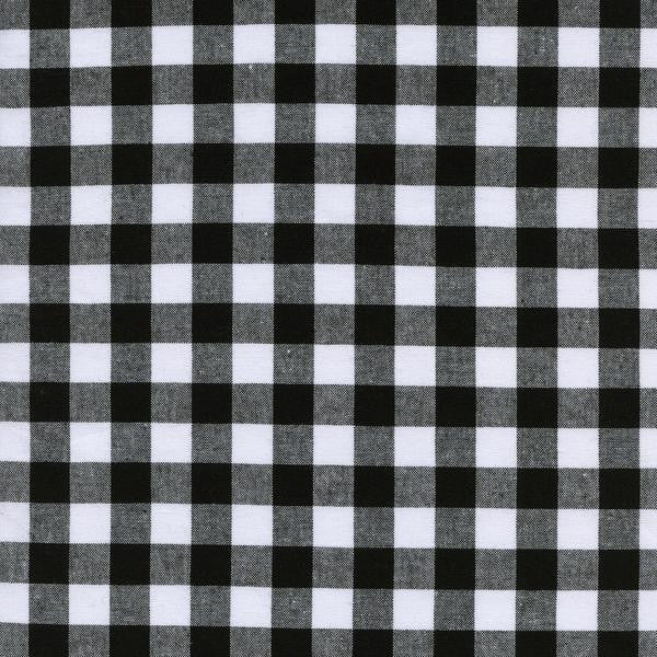 Checkers - (Black) | Gingham