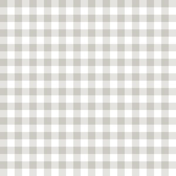 Checkers - (Gray + White) | Gingham