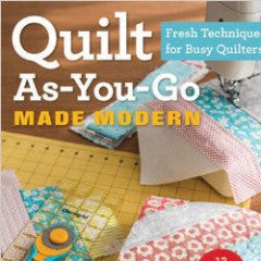 Quilt As-You-Go Made Modern | Book
