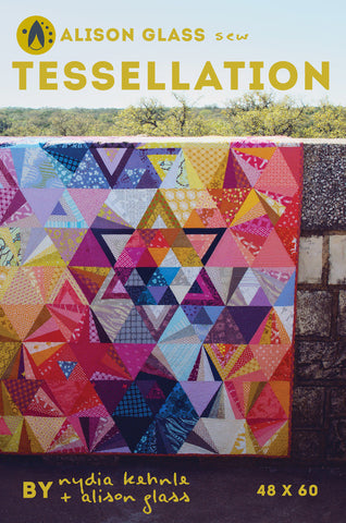 Alison Glass - Tessellation Quilt ⎜Pattern