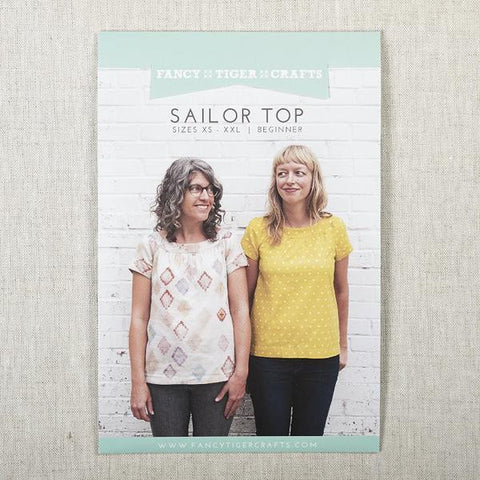 Fancy Tiger Crafts - Sailor Top | Apparel Pattern