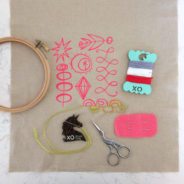 Workshop - XO Stitch Club | Beginner Class