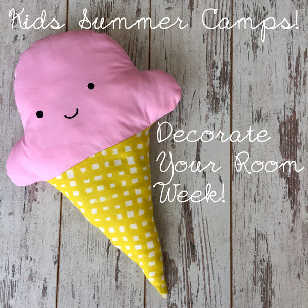 Kids Summer Camp - Decorate Your Room | Beginner Class