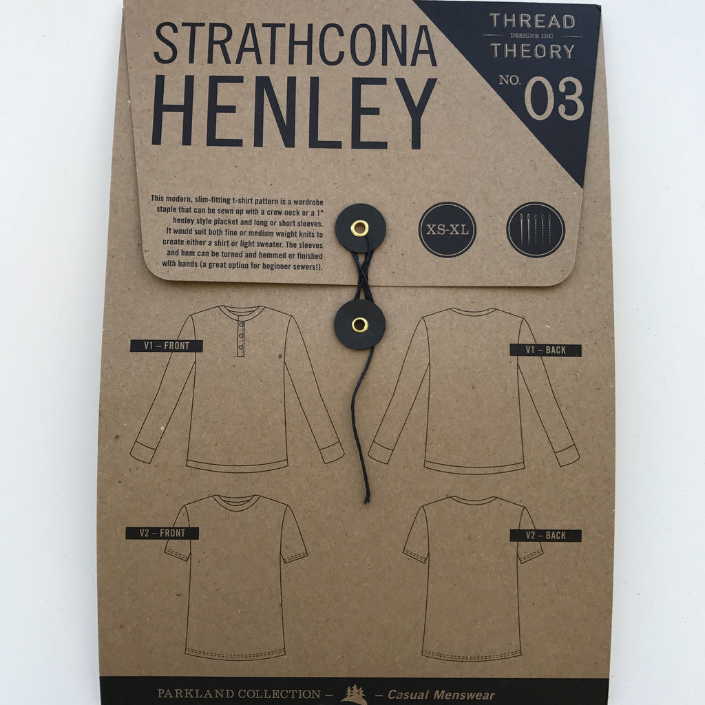 Thread Theory - Strathcona Henley⎜Apparel Pattern