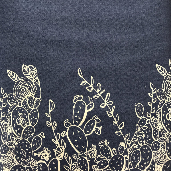 Sage - Prickly Pear (Indigo) | Broadcloth