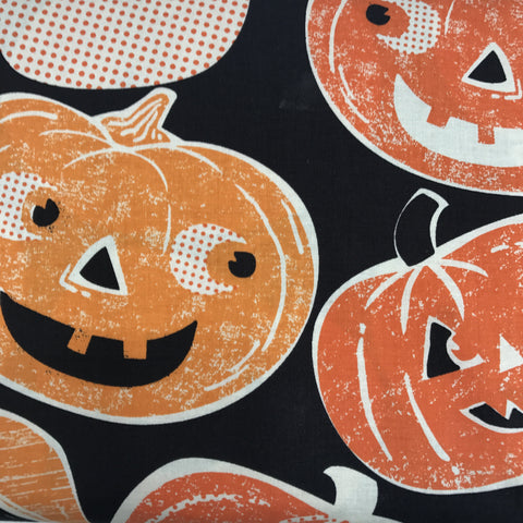 Spooktacular - Pumpkintopia (Orange) | Broadcloth