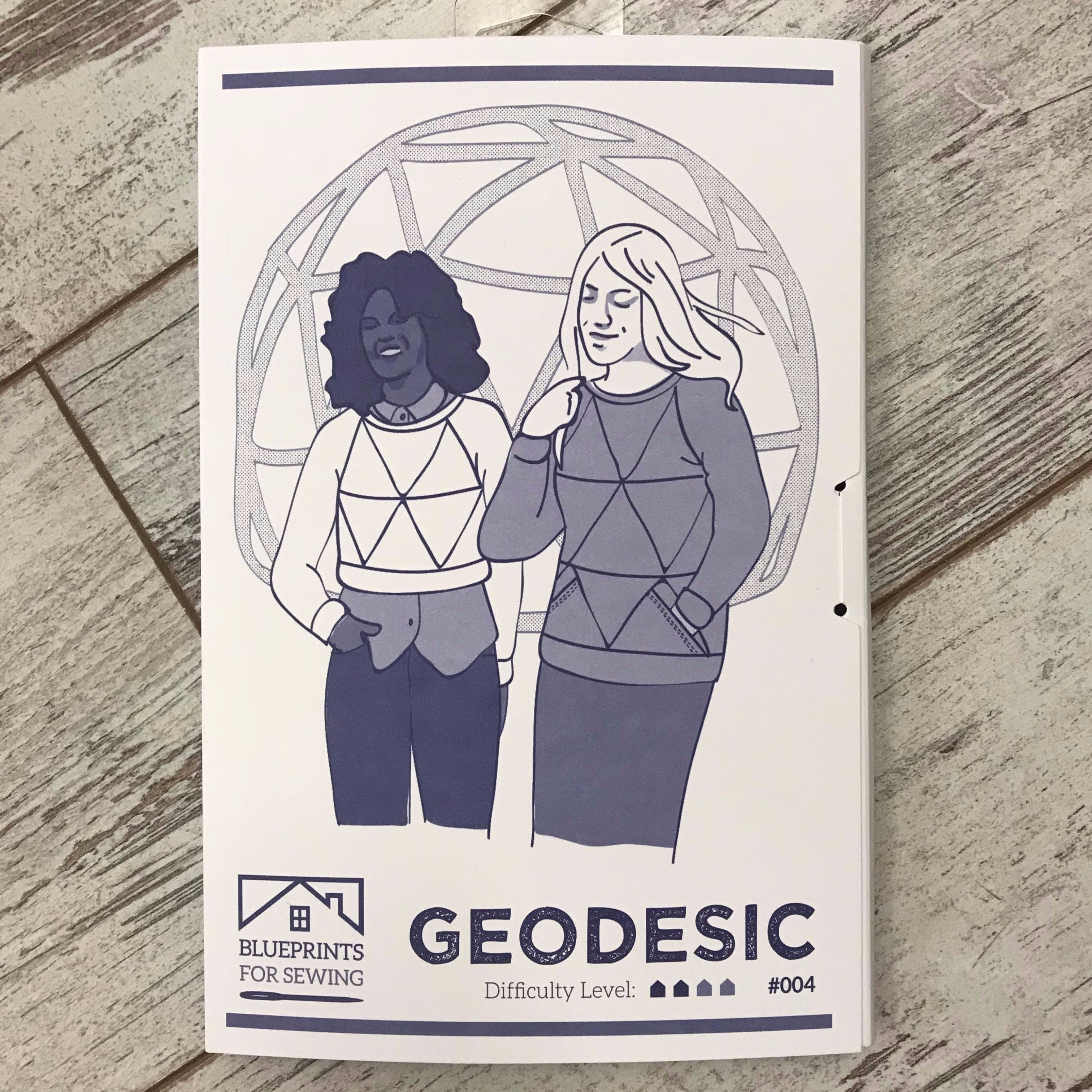 Blueprints for sewing geodesic apparel pattern the cloth pocket blueprints for sewing geodesic apparel pattern malvernweather Choice Image
