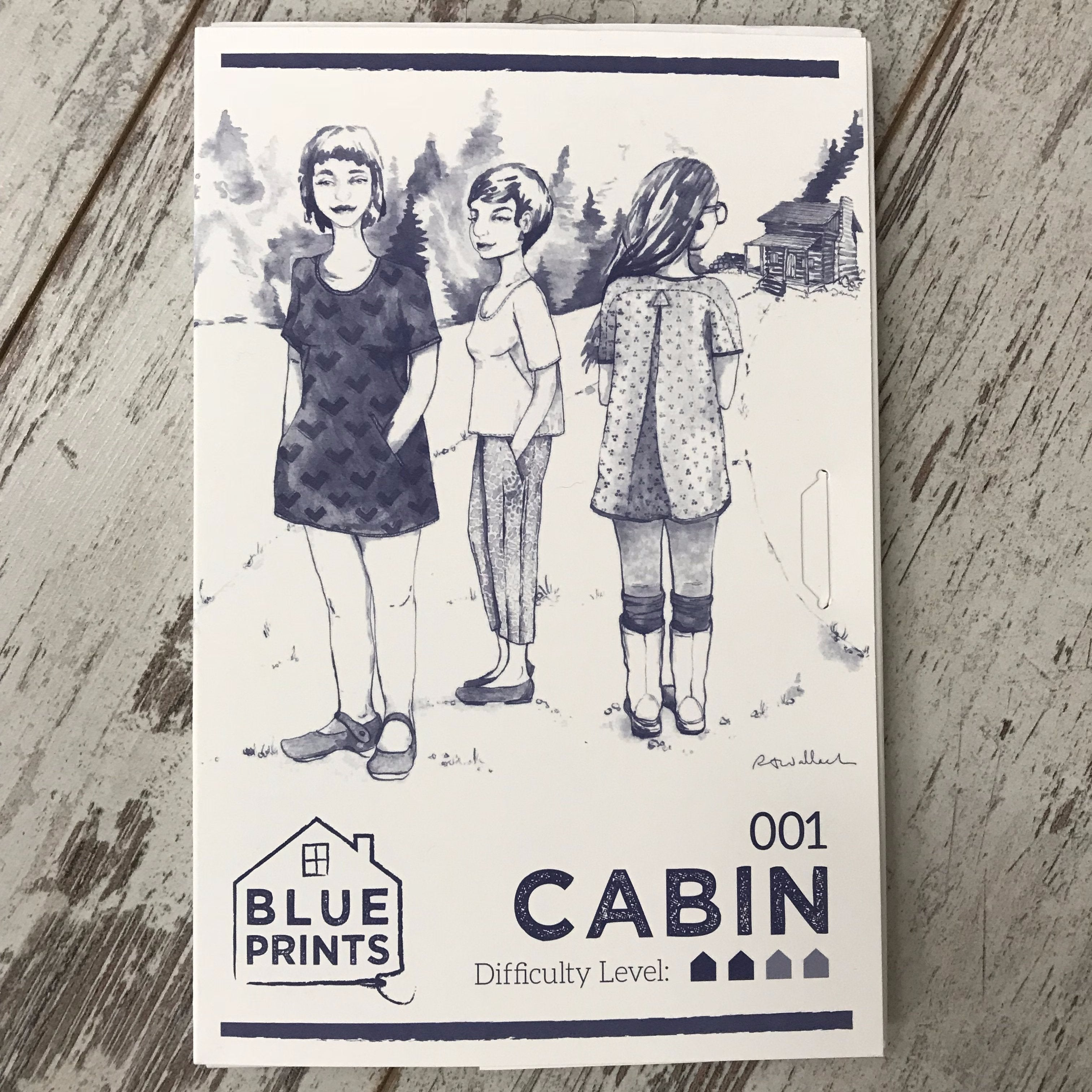 Blueprints for sewing cabin shirtshift apparel pattern the blueprints for sewing cabin shirtshift apparel pattern malvernweather Images