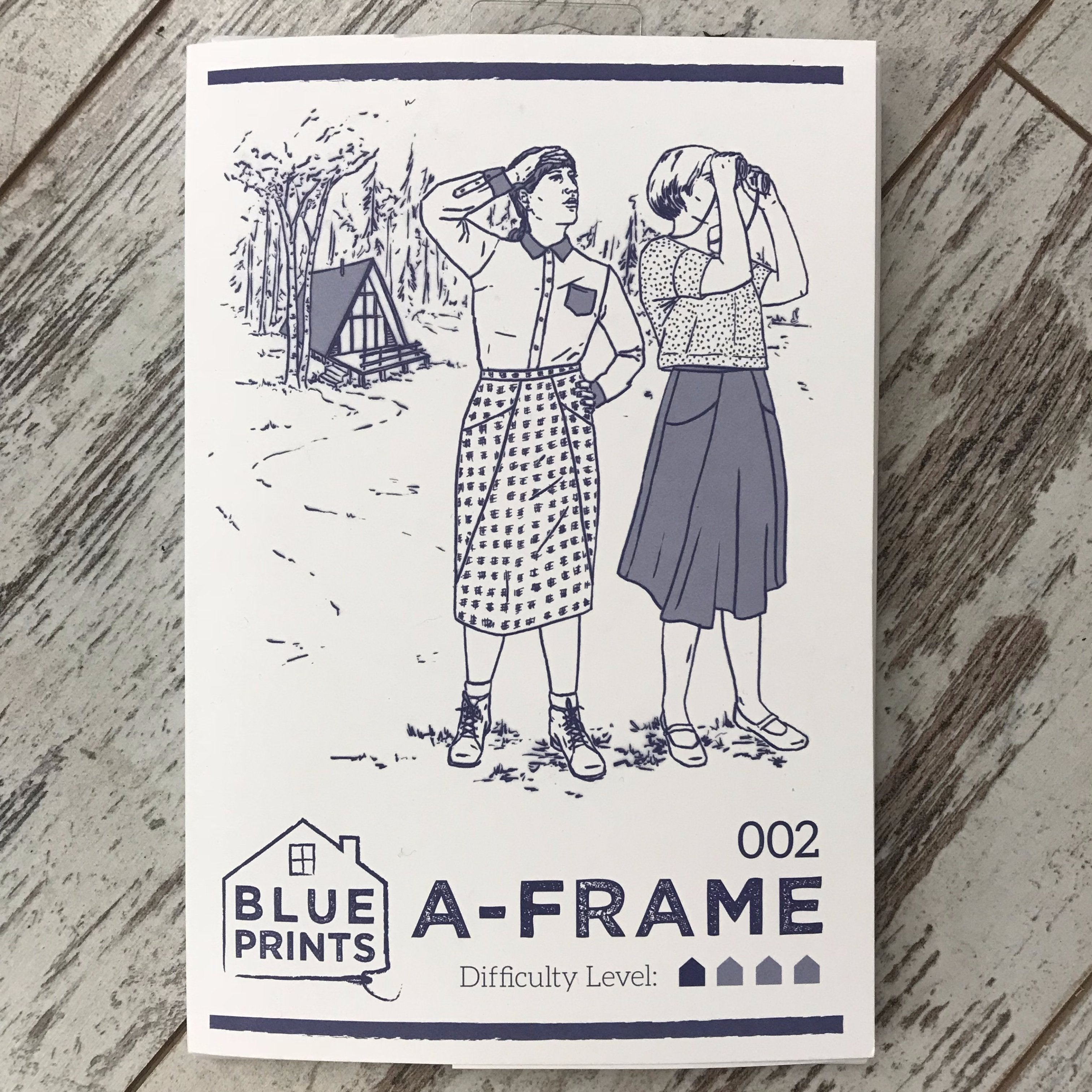 Blueprints for sewing a frame apparel pattern the cloth pocket blueprints for sewing a frame apparel pattern malvernweather Choice Image