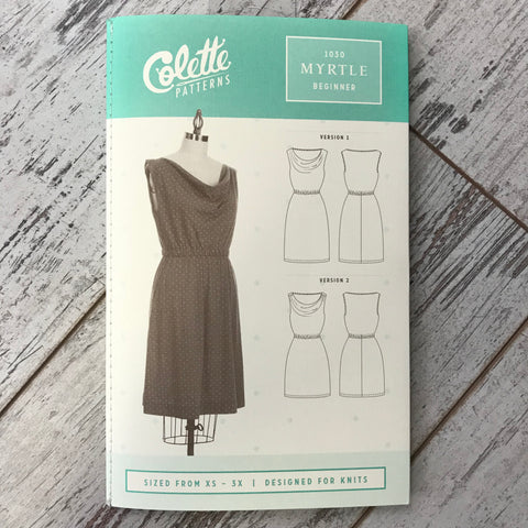 Colette No. 1030 - Myrtle Dress | Apparel Pattern