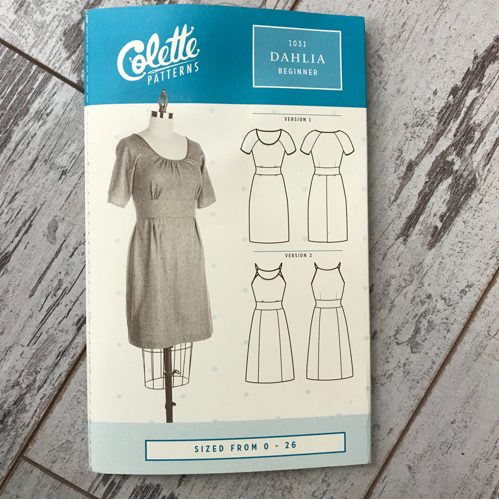 Colette No. 1031 - Dahlia Dress | Apparel Pattern