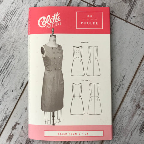 Colette No. 1034 - Phoebe Dress | Apparel Pattern