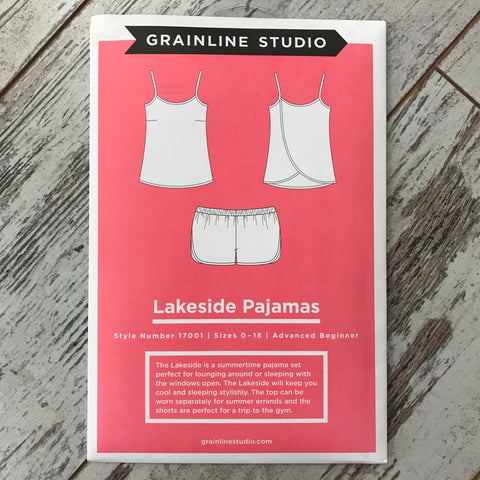 Grainline Studio - Lakeside Pajamas⎜Apparel Pattern