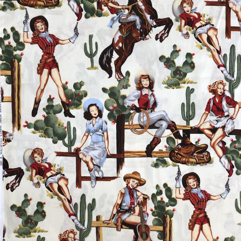 Pin-ups - From the Hip (Natural) | Broadcloth
