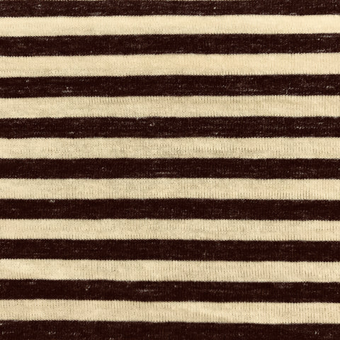 Stripes (Canary + Charcoal) | Knit