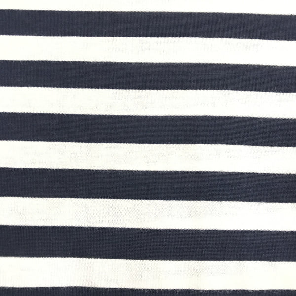Nautical (Navy + White)| Knit