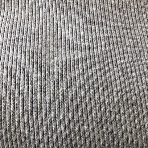 Ribbed Knit (Heather Grey) | Knit