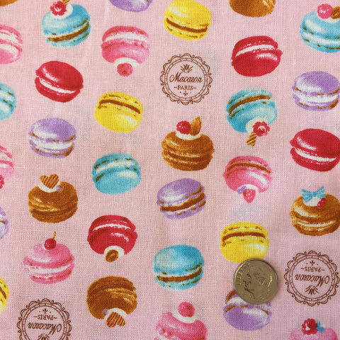 Multicolor Macarons (Pink) | Broadcloth